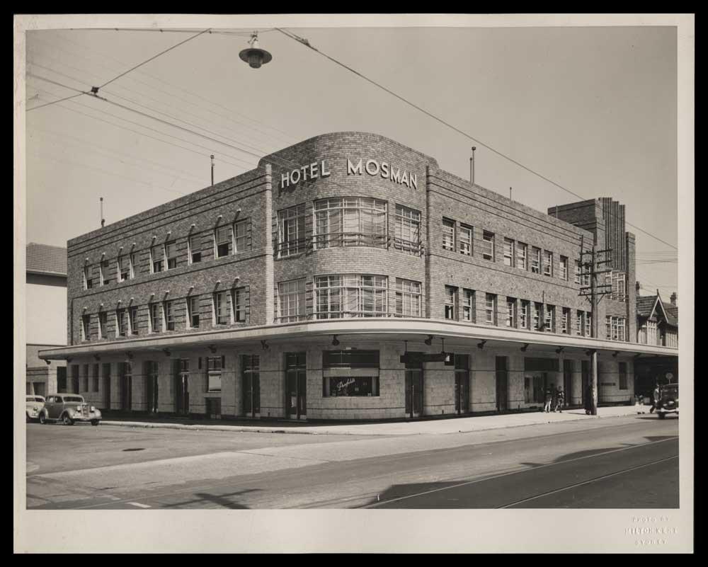 Hotel Mosman: A local landmark for more than 100 years.